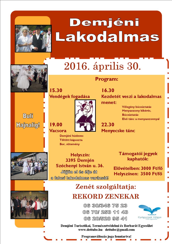 2015. évi programok